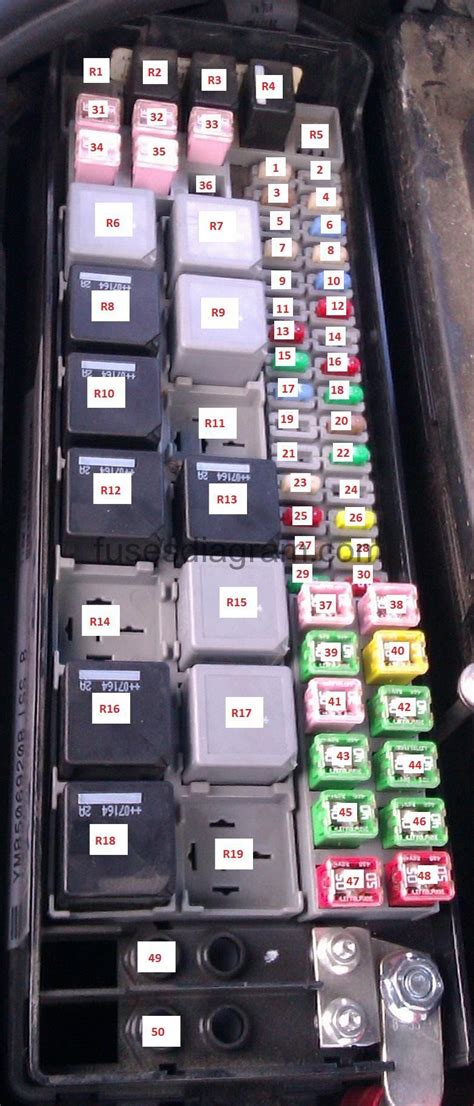 05 Range Rover Fuse Box Location by Fuse Box Land Rover Discovery 3