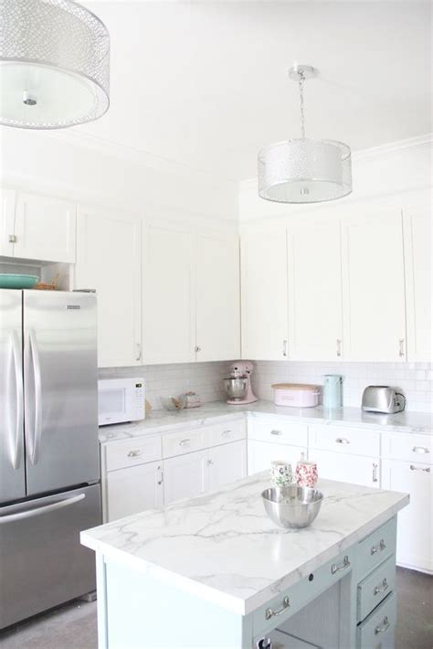 kitchen counter contact paper 8 home decor pieces to update with adhesive contact paper