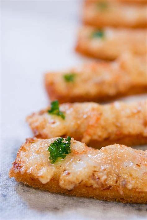 toast recipes shrimp toast recipe dishmaps