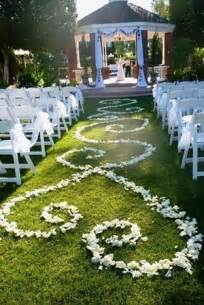 outdoor wedding aisle decor 20 wedding ideas to in 2015