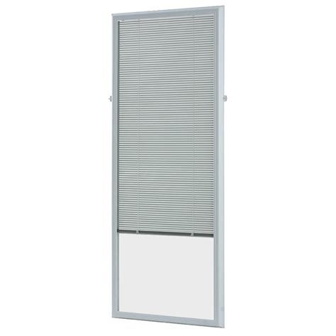 mini blinds lowes odl 5 8 in aluminum light filtering cordless enclosed mini