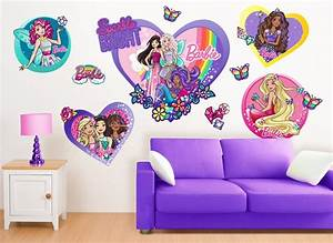 barbie fairy princess friends wall decals With beautiful barbie wall decals