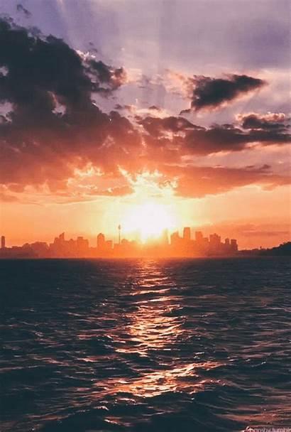Sunset Aesthetic Ocean Iphone Sky Nature Sydney