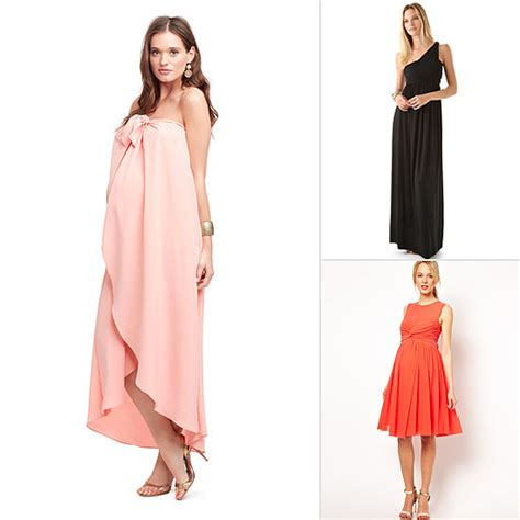 Maternity Maxi Dress Baby Shower Picture