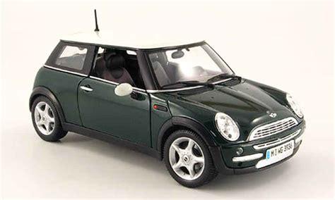 mini cooper d miniature verte maisto 1 18 voiture