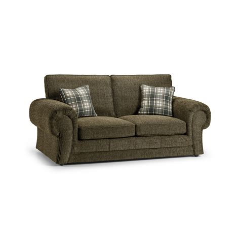 wilcot check two seater sofa