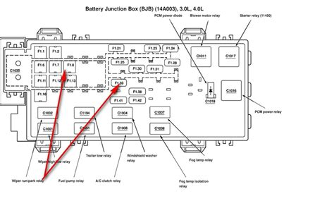 diagram  ford ranger relay diagram full version hd
