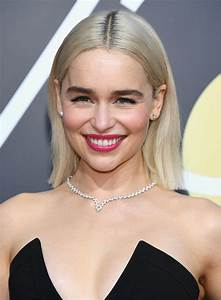 Emilia Clarke Looked Great At The 2018 Globes And Kit