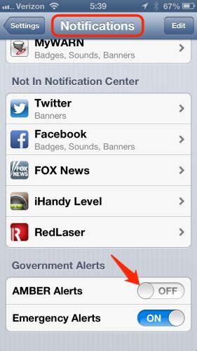disable alert iphone iphone turn alerts