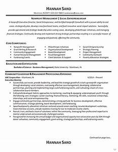 Cover Letter Non Profit Sample Nonprofit Manager Resume Example Executive Director