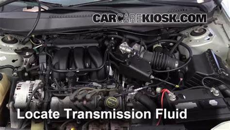 mercury sable transmission fluid change