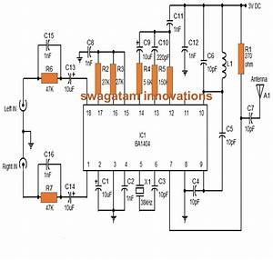 Make This Stereo Fm Transmitter Using Ic Ba1404