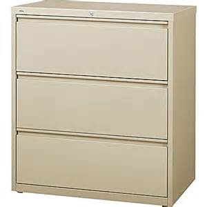 staples hl8000 commercial 36 quot 3 drawer lateral file cabinet putty staples 174