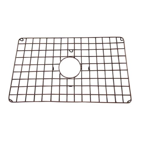 kitchen faucets copper ariellina copper sink grid for 33 quot curva undivided sinks