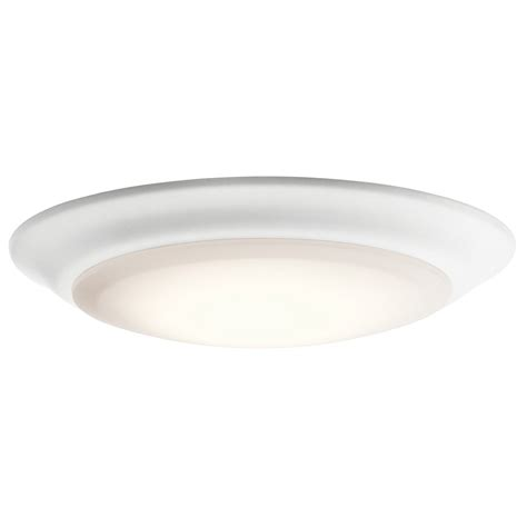 kichler 43846whled27 energy led flush mount light fixture