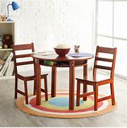 Modern Child Table And Chair Set by Lipper Childrens Round Table And Chair Set Activity Tables At Hayneedle
