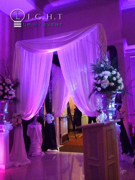 draping and lighting for wedding 25 best ideas about pipe and drape on