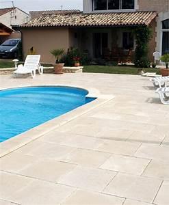 nivremcom terrasse piscine bois ou carrelage diverses With carrelage pour terrasse piscine