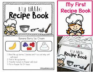 my first recipe book recipes for kids easy to follow With kids cookbook template