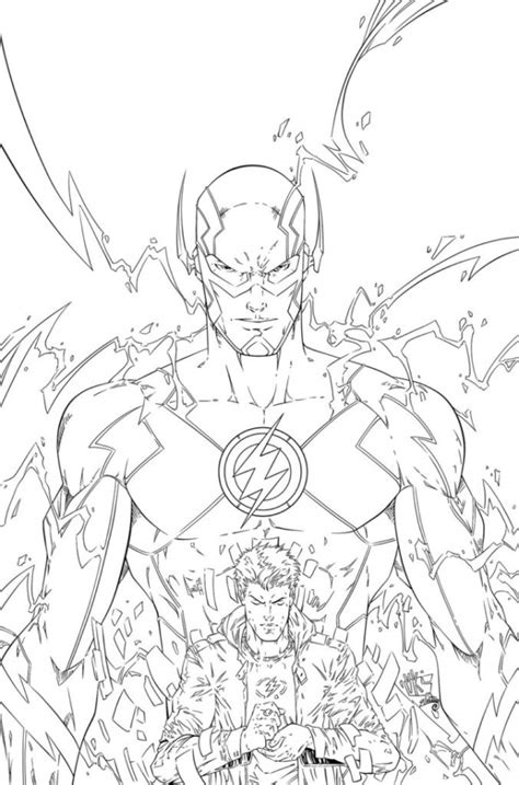 Printable Coloring Pages Of The Flash  Coloring Pages Ideas