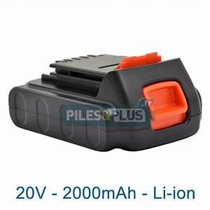 Batterie Black Et Decker 18v : batterie pour black et decker type lbxr20 18v li ion ~ Dailycaller-alerts.com Idées de Décoration