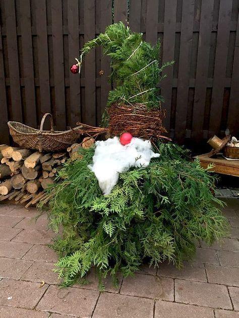 Weihnachtsdeko Für Garten Gebraucht by Weihnachtswichtel Aus Wacholder Zweigen Basteln F 252 R