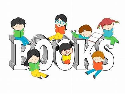 Reading Books Children Text Illustration Illustrations Sitting