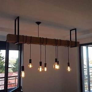 idee de suspension avec poutre et luminaires style With cage d escalier exterieur 8 magasin luminaire interieur exterieur design contemporain
