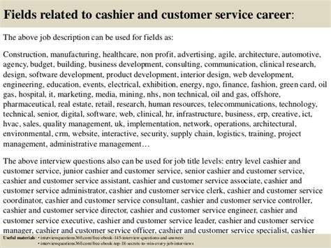 Cashier Answers by Top 10 Cashier And Customer Service Questions