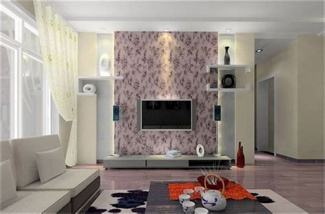 Contemporary Living Room Wallpaper by Wallpapers For Living Room Design Ideas In Uk