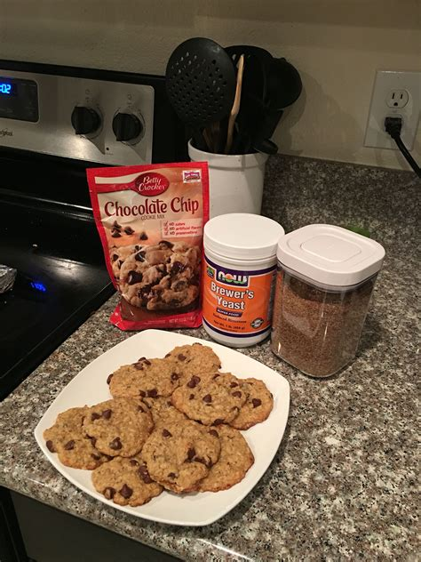 Easy Lactation Cookies I Actually Used The Oatmeal