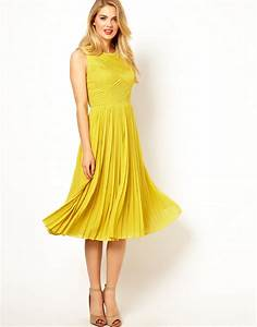 yellow wedding guest dress with knee lengthcherry marry With yellow wedding guest dress