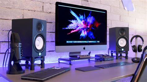epic imac pro production setup  youtube