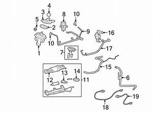 Ford Escape Connector  Vacuum  Tube  Line  2 3 Liter  2008