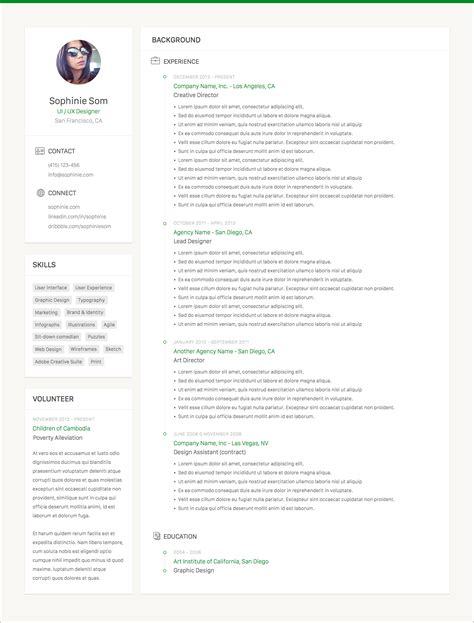 sketch resume template clean resume template sketch resource for sketch image zoom attachment sketch app sources