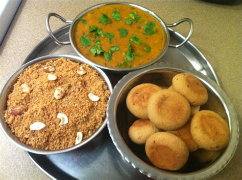 cuisine rajasthan recipe for dal baati churma the authentic dish of