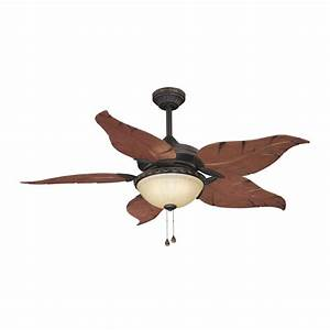 Harbor breeze in outdoor ceiling fan with light