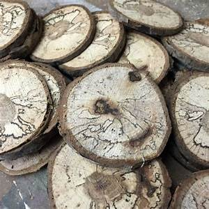 hometalk how to cut wooden disc wood slices With what kind of paint to use on kitchen cabinets for log slice wall art