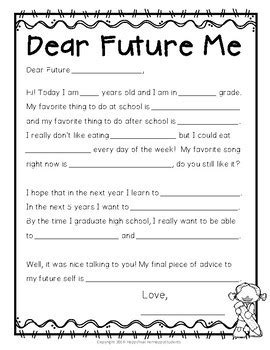 letter to future self awesome letter to future self cover letter exles 48672