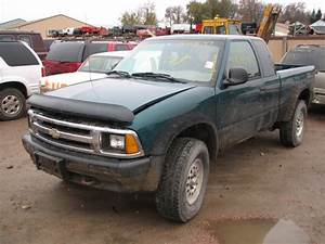 1997 Chevrolet S10 Pickup Manual Transmission  19964398