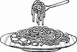 Spaghetti Coloring Colouring Clipart Pasta Plato Colorear Fideos Imagui Espaguetis Dibujos Clip Mewarna Dibujo Gambar Tasty Template Animados Pastas Imagenes sketch template
