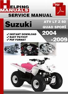Suzuki Atv Lt Z 50 Quad Sport 2004