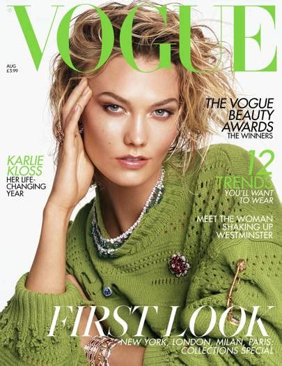 Karlie Kloss Covers The August Issue British Vogue