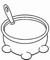 Soup Pot Bowl Coloring Drawing Pages Stew Stone Cooking Clipart Printable Template Getdrawings Cereal Clipartmag Pots Cliparts Pans Getcolorings Results sketch template