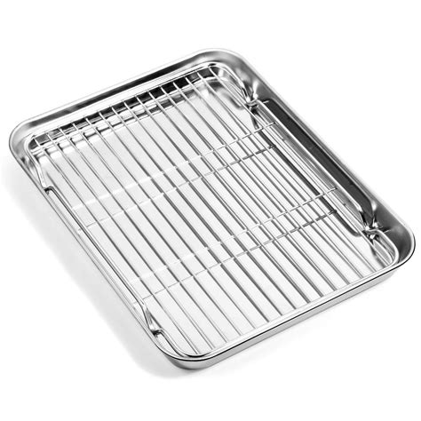 baking stainless rack steel cookie sheets pan cooling sheet nonstick 4x8 metal non racks rectangle clean toxic easy oven pans