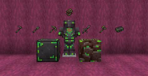 Radioactive Netherite Minecraft Texture Pack