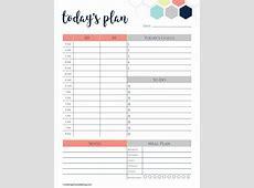 Daily Calendar Template cyberuse