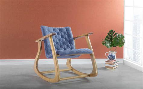 Poltrona Design De BalanÇo Smith 65x83x72cm