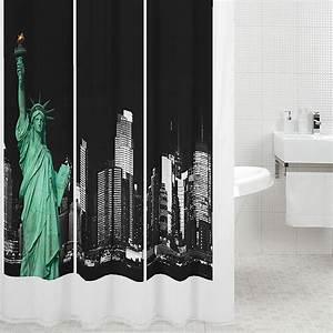 Duschvorhang 180 X 220 : venus textil duschvorhang new york 180 x 200 cm panorama bauhaus ~ Eleganceandgraceweddings.com Haus und Dekorationen