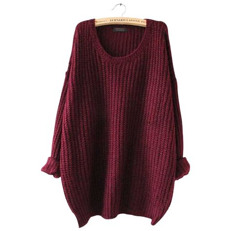 knitted sweaters 39 s oversized knitted sweater sleeve tops cardigan